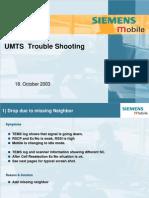 UMTS Troubleshooting 18-10-03