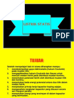 fisika Listrik Statis