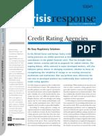 """World Bank Crisis Response (2009) """"Credit Rating Agencies"""""""