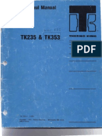 ThermoKing Yanmar Overhaul Manual TK353ModelRD1