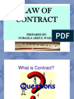 (1) Contract- Offer