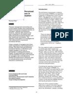 JAMARv11.1-Procedural Fairness in Performance Evaluation