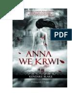 Blake Kendare - Anna [Kendare Blake] 01 - Anna We Krwi