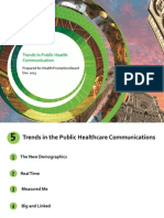 Trends in Public Health Communication