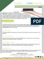 SUNDE NetFlux S100 Datasheet UK v1.4