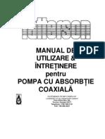 Manual Mentenanta Pompa