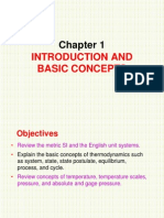 Chap 1 Intro to Thermodynamic