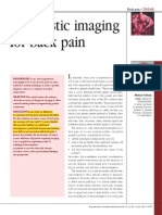 Diagnostic Imaging for Back Pain AFP 2004