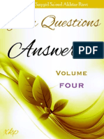 Your Questions Answered Volume 4