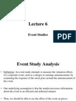 Event Study Analysis
