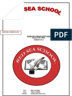 Red Sea School Admissions
