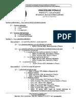 Plan Procedure Penale Theme 1