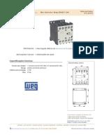 Mini Contator Icos Weg CWC07 24V