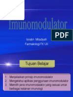 Dr. Isnatin M Imunomodulator 2009-2010