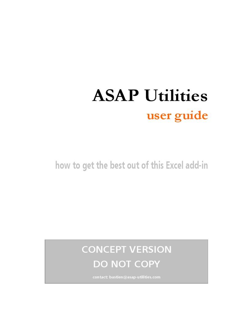 asap utilities 64 bit install