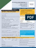 QIAE - International Enrolment Form