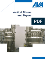 AVA Vertical Mixer and Dryers