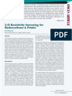 2-D Resistivity Surveying