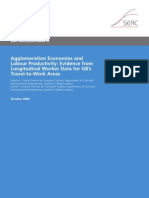 Agglomeration and Labour Productivity