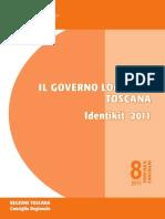 Identikit 2011. Il governo locale in Toscana