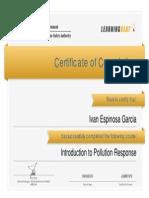Certificado Curso AMSA Hidrocarburos