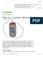 What Are Coupling Capacitors