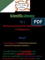 Scientific Literasi ppt