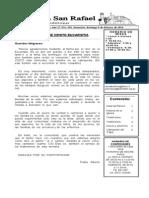 Boletin Parroquial  09-02-2014