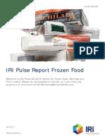 Pulse Report-FrozenFood-Q3-2013