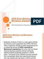 Gate 2015 Study Material For Mechanical Pdf