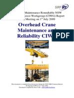 Cranes CIWG Report v1