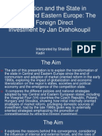 Globalization and the State in Central and Eastern Europe Shadab & Zaid