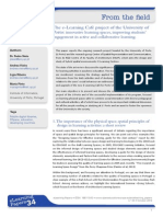 The e-Learning Café project of the University of Porto