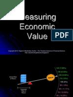 What Drives Economic Value ?