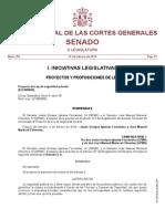 Enmiendas del Senado al Proyecto de Ley de Seguridad Privada