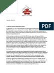 Ottawa East Minor Hockey Association open letter