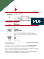 Croix Rouge en France