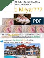 project bisnis omset 20 Milyar New