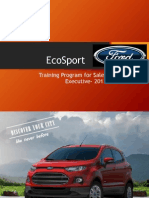 Sewells Group_Ford EcoSport Launch_Sales Exe Trng Ppt