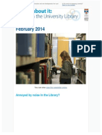 Library Newsletter February 2014