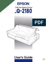 LQ-2180 Users Guide