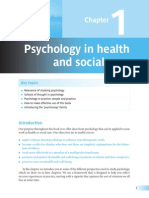 Psychology in Health Care and Social Care
