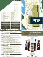 Programa 94 Feria Agropecuaria Valencia de Don Juan 2014