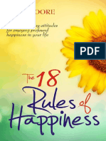The 18 Rules of Happiness