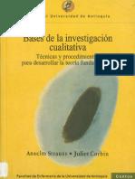 Bases de la investigación cualitativa