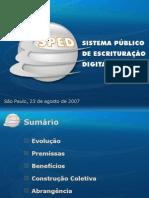 Receita Federal apresenta o SPED