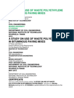 A Study on Use of WastFilename