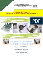 Mec 111 Technical Drawing