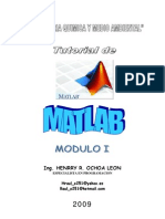 Manual de Matlab Modulo I