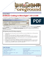 Drillhole Coding in MineSight® 3-D v.4.00